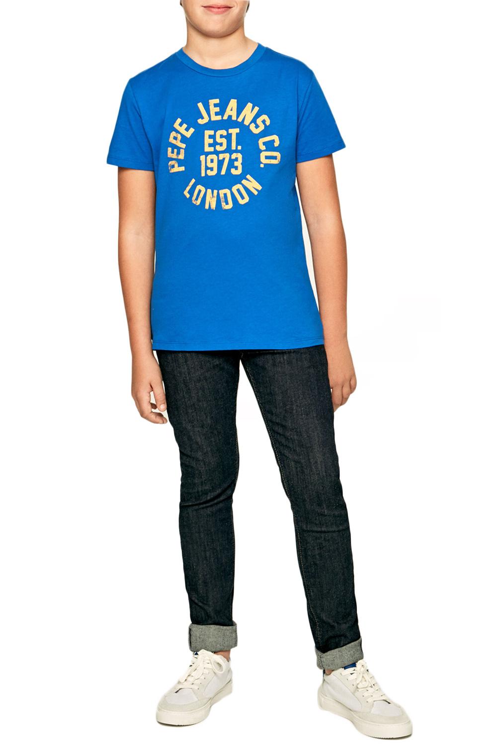 Παιδική Μπλούζα PEPE JEANS PB502824-554 Mπλέ
