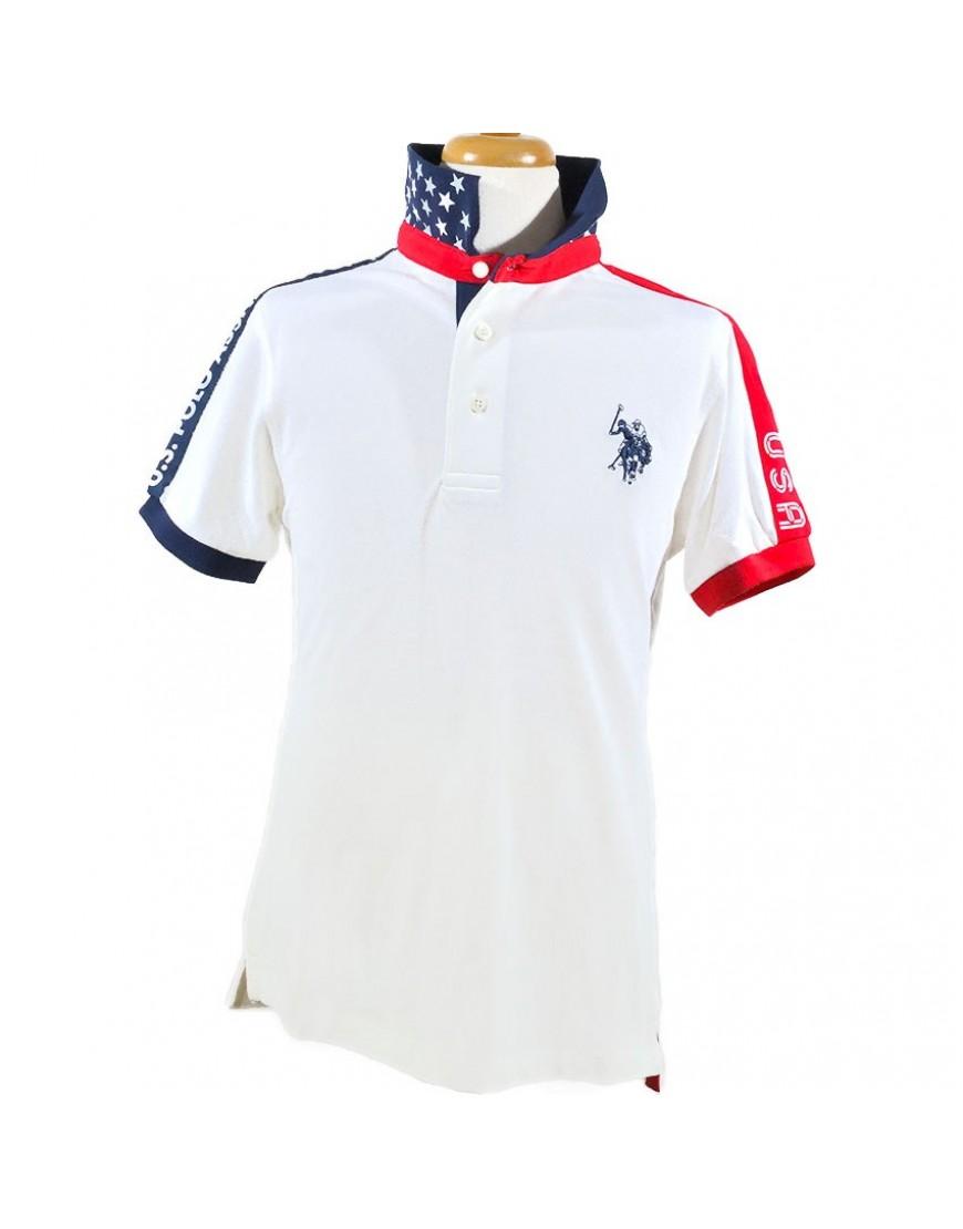 Παιδικό Μπλουζάκι U.S. POLO ASSN. 5749141029 Άσπρο