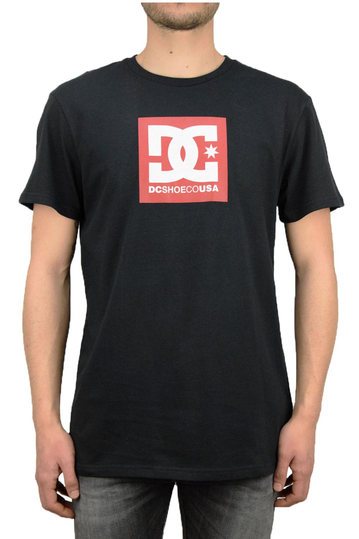 Ανδρική Μπλούζα DC EDYZT03902 Μαύρο