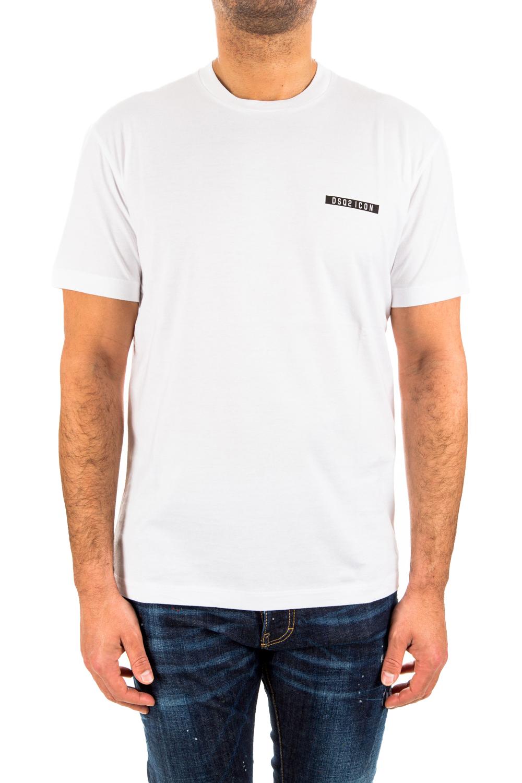 Ανδρική Μπλούζα DSQUARED2 S79GC0002-S23009-100 Άσπρη