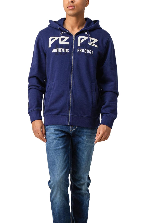 Ανδρική Ζακέτα Φούτερ PEPE JEANS PM581635 Μπλε