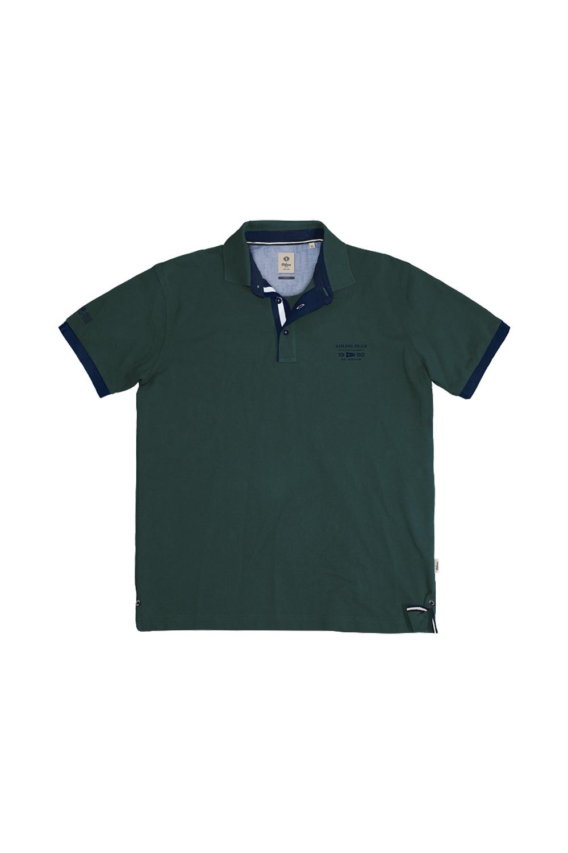 Ανδρική Μπλούζα POLO REBASE RPS-247SA Πράσινο