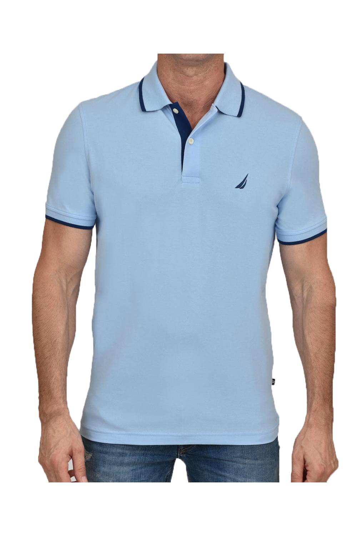 Ανδρική Μπλούζα NAUTICA K01912-4NN Σιέλ