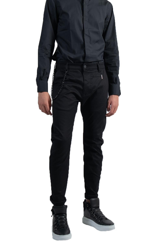 Ανδρικό Παντελόνι PREMIUM NAPOLI-1553 Μαύρο