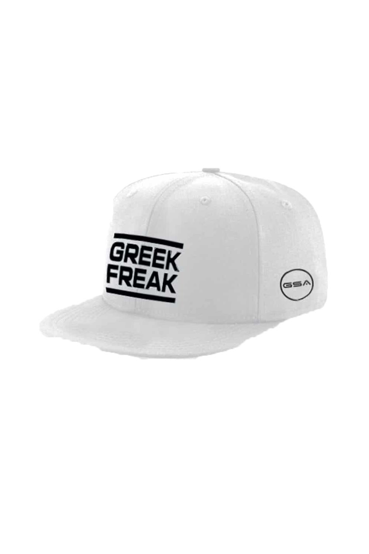 Ανδρικό Καπέλο GREEK FREAK GSA 3417011 Άσπρο