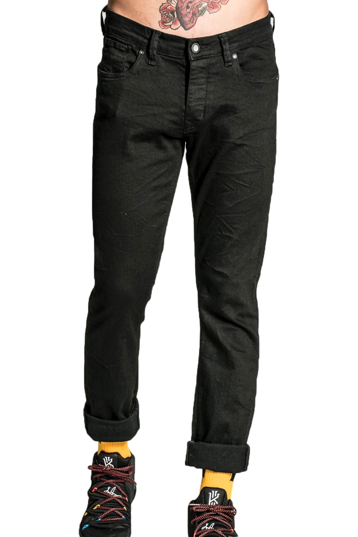 Ανδρικό Παντελόνι COVER BRUNO G0060 Τζιν Μαύρο
