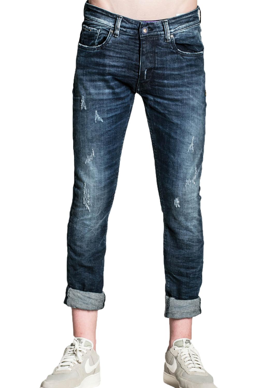 Ανδρικό Παντελόνι COVER BRUNO N5560-2029 Τζιν Σκούρο