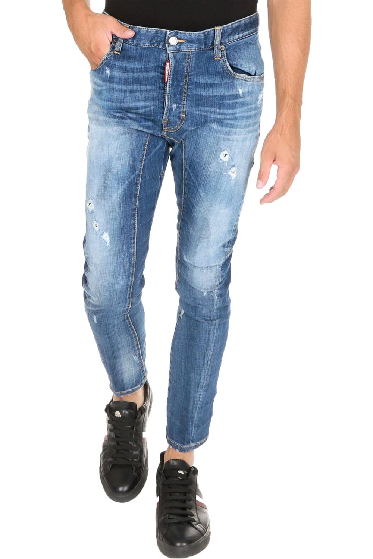Ανδρικό Παντελόνι DSQUARED2 S74LB0611-S30342470 Τζιν Ανοιχτό