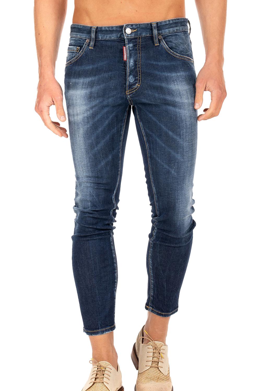 Ανδρικό Παντελόνι DSQUARED2 S71LB0755-S30685-470 Τζιν Ανοιχτό