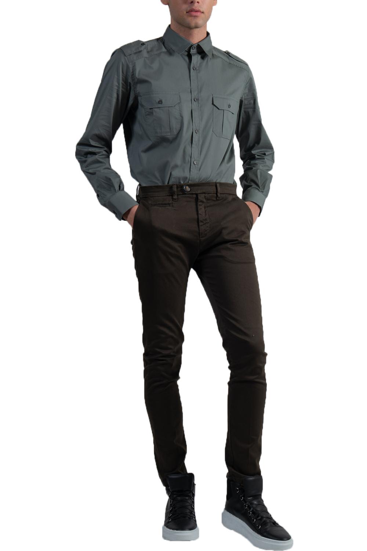 Ανδρικό Παντελόνι PREMIUM CAPELLI-1548 Χακί