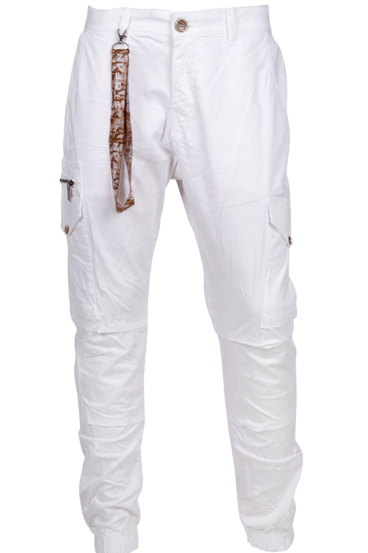 Ανδρικό Παντελόνι STEFAN 2020 Άσπρο