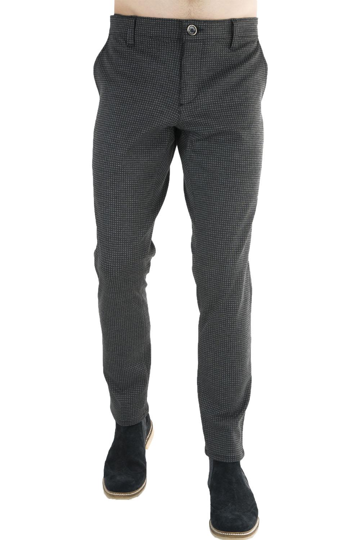 Ανδρικό Παντελόνι STEFAN 6015 Γκρι
