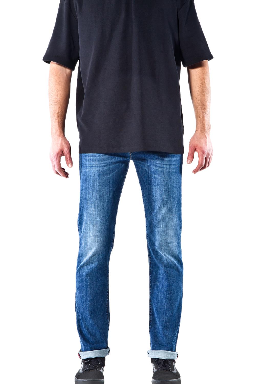 Ανδρικό Παντελόνι UNIPOL 637 Τζιν Σκούρο
