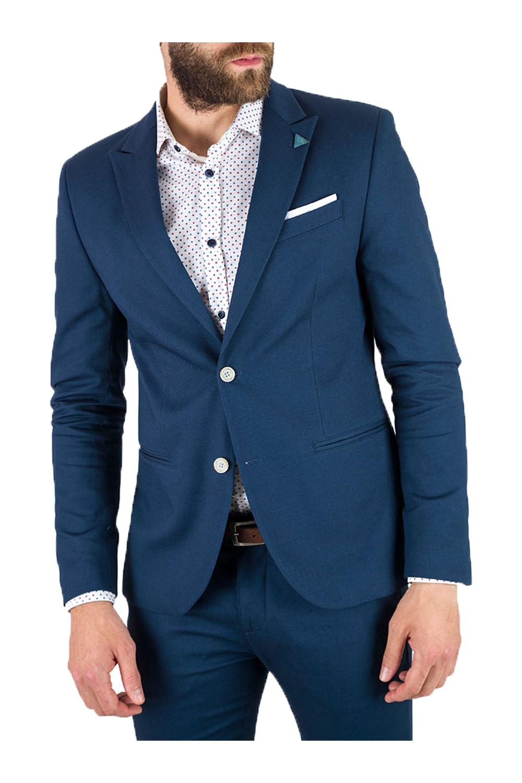 Aνδρικό Σακάκι STEFAN 1009 Μπλε