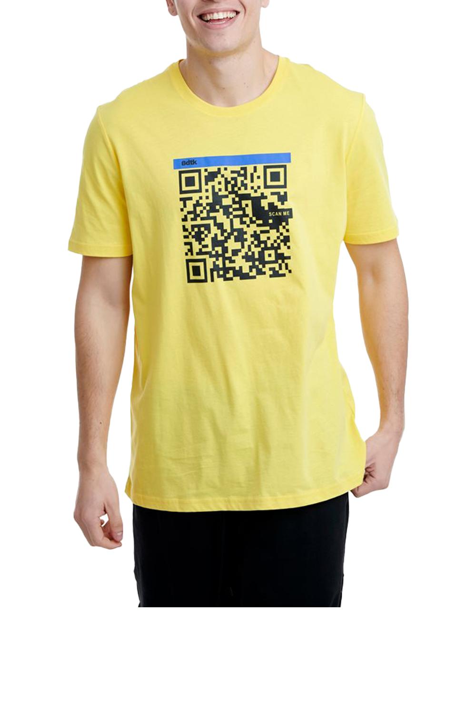 Ανδρική Μπλούζα BODYTALK 1201-950228 Κίτρινη