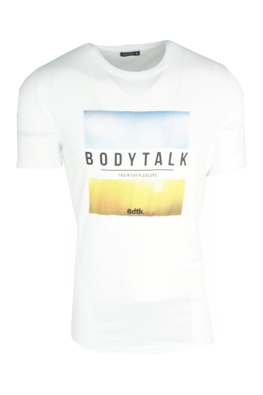 Ανδρική Μπλούζα BODYTALK 1201-950428 Άσπρη
