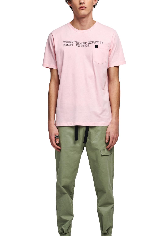 Ανδρική Μπλούζα P/COC P-1011 Ρόζ