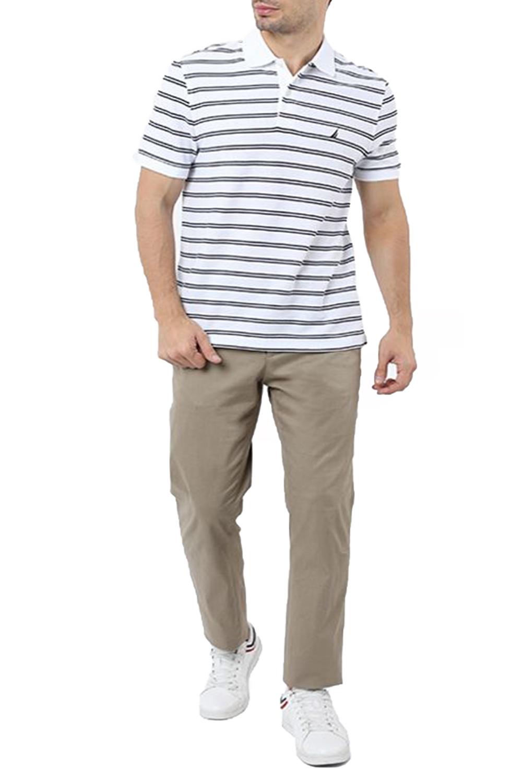 Ανδρική Μπλούζα NAUTICA K01002-1BW Άσπρη