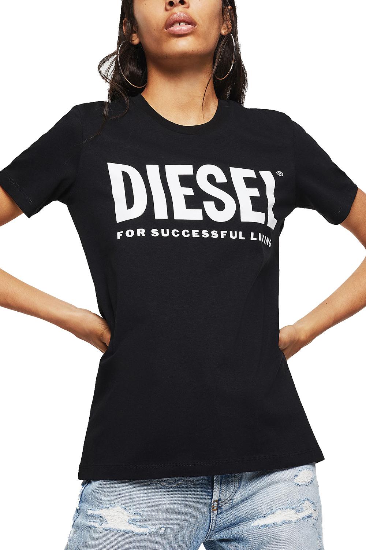 Γυναικεία Μπλούζα DIESEL 00SYW8-0CATJ T-SILY-WX Μαύρο
