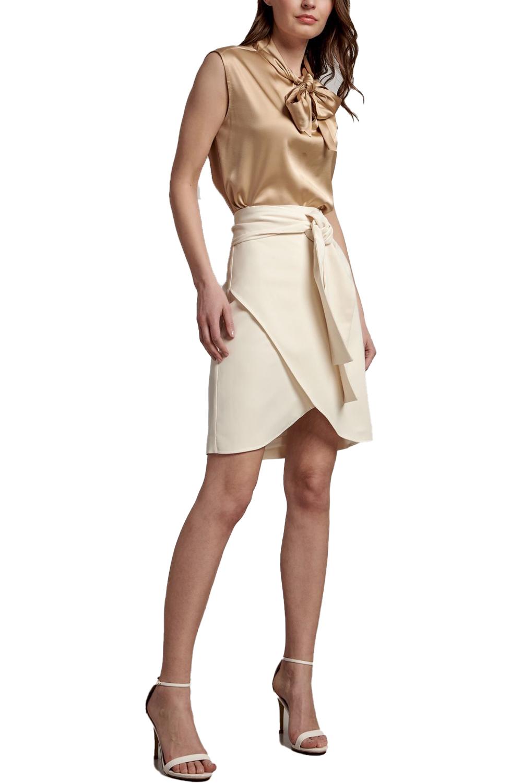 Γυναικεία Φούστα NADIA CHALIMOU BY PASSAGER 39022 Εκρού
