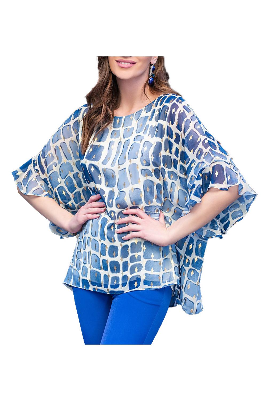 Γυναικεία Μπλούζα DERPOULI 1 10 85 49267 Μπλε