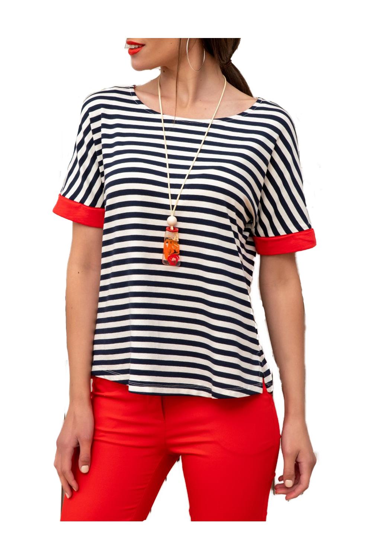 Γυναικεία Μπλούζα DERPOULI 1 10 85838 Κόκκινο