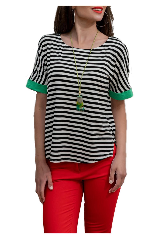Γυναικεία Μπλούζα DERPOULI 1 10 85838 Πράσινο