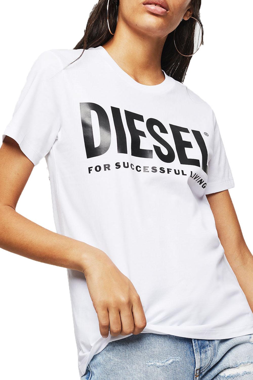 Γυναικεία Μπλούζα DIESEL 00SYW8-0CATJ T-SILY-WX Άσπρο