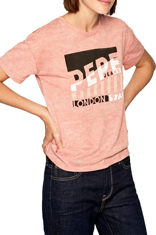 Γυναικεία Μπλούζα PEPE JEANS PL504338-323 Κοραλί