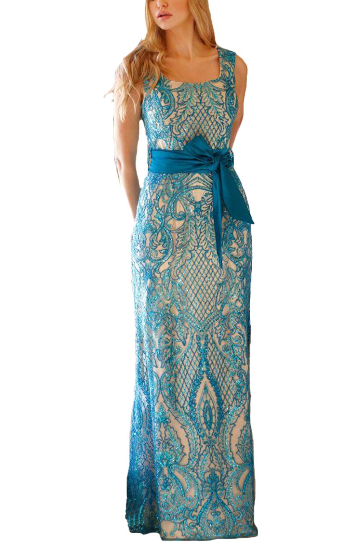 Γυναικείο Φόρεμα CECILIA S20C203 Μπλέ