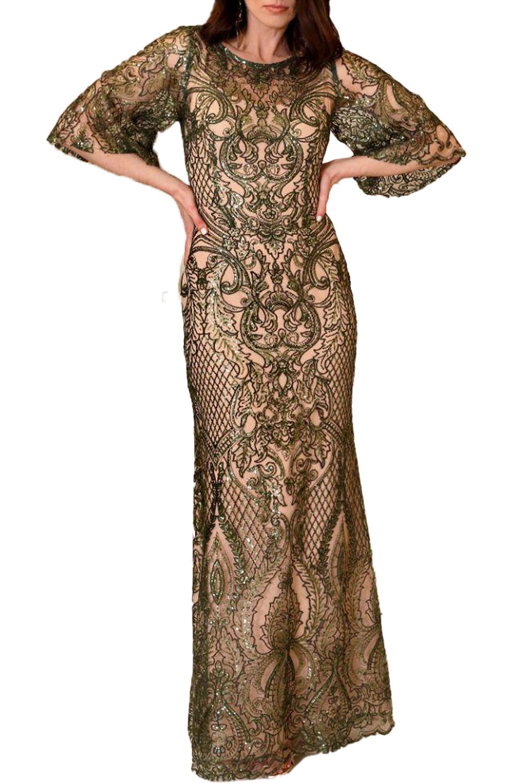 Γυναικείο Φόρεμα CECILIA S20C285 Πράσινο
