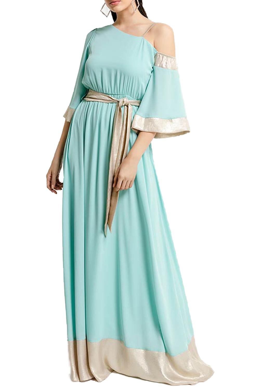 Γυναικείο Φόρεμα QUEEN FASHION 200148 Σιέλ