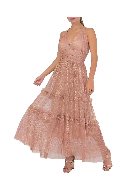 Γυναικείο Φόρεμα COOCU 2070.926351101 Ροζ