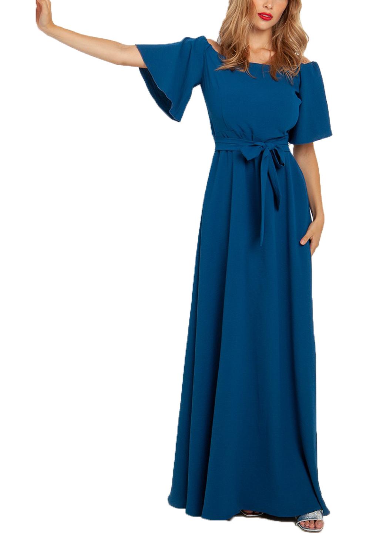 Γυναικείο Φόρεμα DESIREE 08.33034 μπλέ