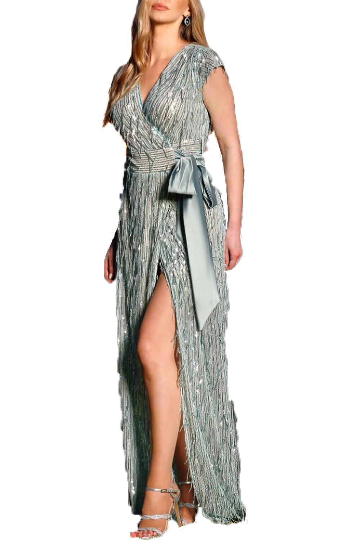 Γυναικείο Φόρεμα PERSONAL S20P144A Σιελ