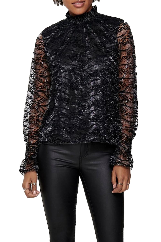 Γυναικεία Μπλούζα ONLY 15190268 Μαύρο