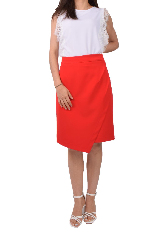 Γυναικεία Φούστα KANELLIS X-607 Κόκκινο