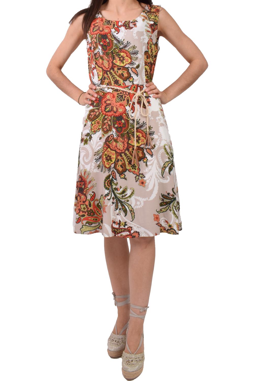Γυναικείο Φόρεμα KANELLIS X-625 Άσπρο