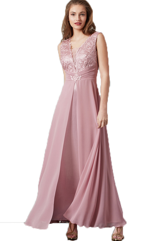 Γυναικείο Φόρεμα STELLA DERLOU 20023 Ρόζ