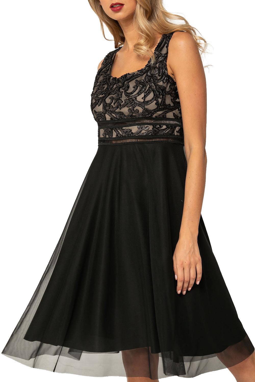 Γυναικείο Φόρεμα BELLINO 21.11.2130 Μαύρο