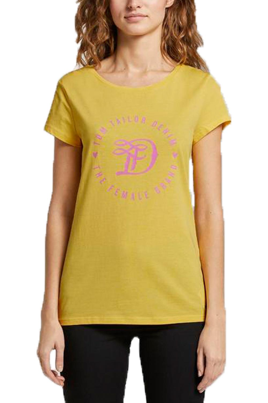 Γυναιοκεία Μπλούζα TOM TAILOR 1016431.00.71  Κίτρινο