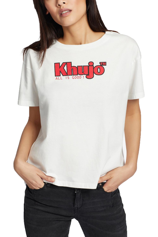 Γυναικεία Μπλούζα KHUJO 1348TS191-100 Άσπρη