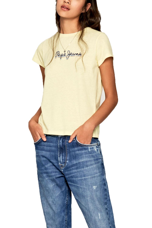 Γυναικεία Μπλούζα PEPE JEANS PL504444-031 Κίτρινη