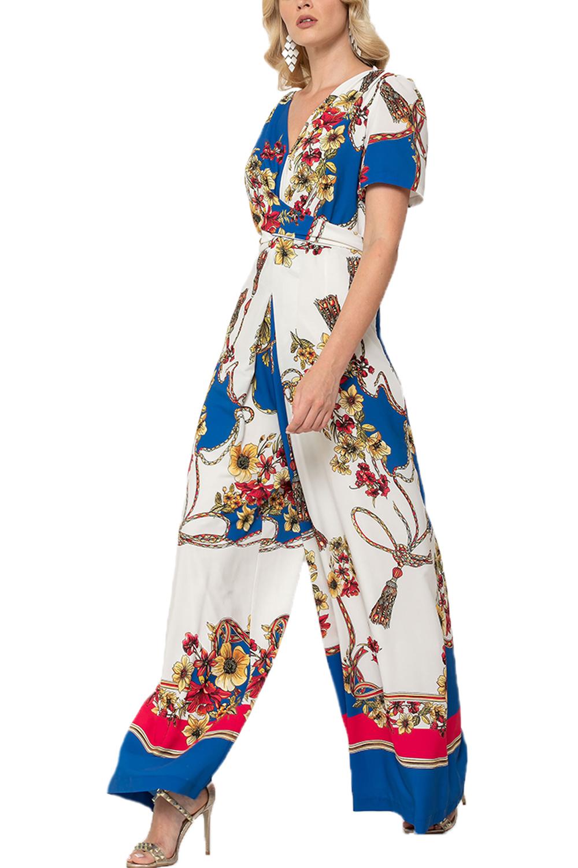 Γυναικεία Ολόσωμη Φόρμα QUEEN FASHION 190373 Πολύχρωμη