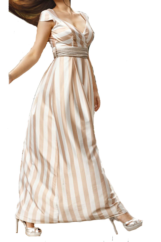 Γυναικείο Φόρεμα PERSONAL S19P185 Μπεζ