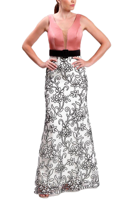 Γυναικείο Φόρεμα CECILIA A20C213 Ρόζ