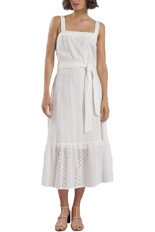 Γυναικείο Φόρεμα NADIA CHALIMOU 79422 Άσπρο