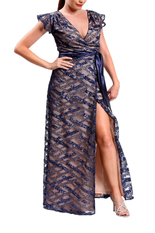 Γυναικείο Φόρεμα PERSONAL A20P105 Μπλε