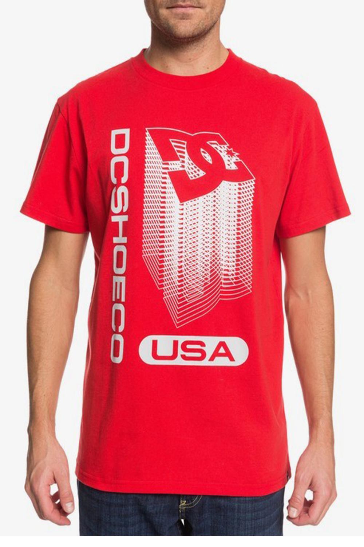 Ανδρική Μπλούζα DC EDYZT04123 Κόκκινη