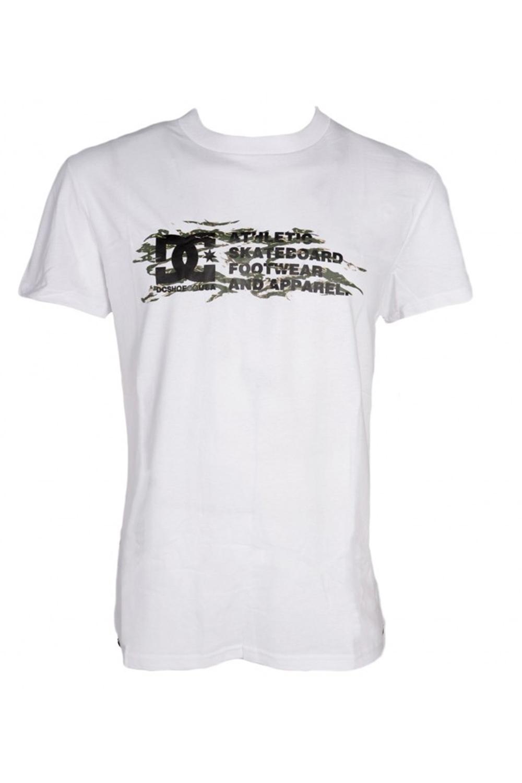 Ανδρική Μπλούζα DC EDYZT04092 Άσπρη